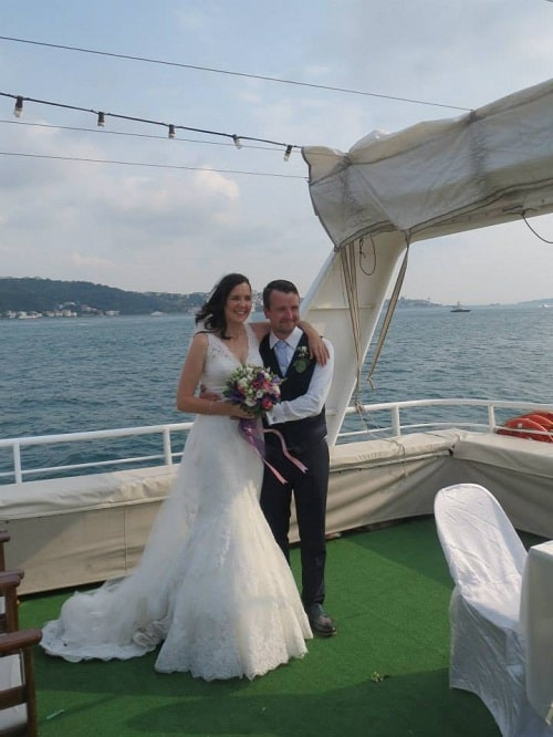 Sean and Fiona's wedding on the Bosphorus (Source: S. Fallon)