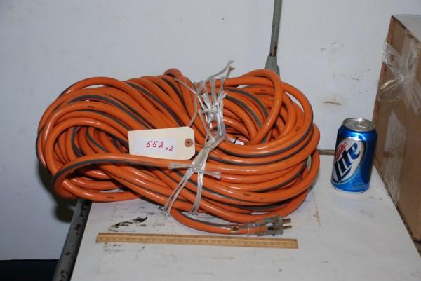 Unused 115v Ridgid 10 Ga 100 Ft Extension Cord Cable Inv 552