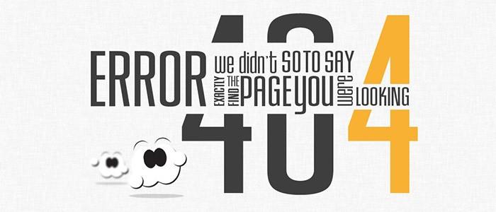 Ошибка 404 - фото