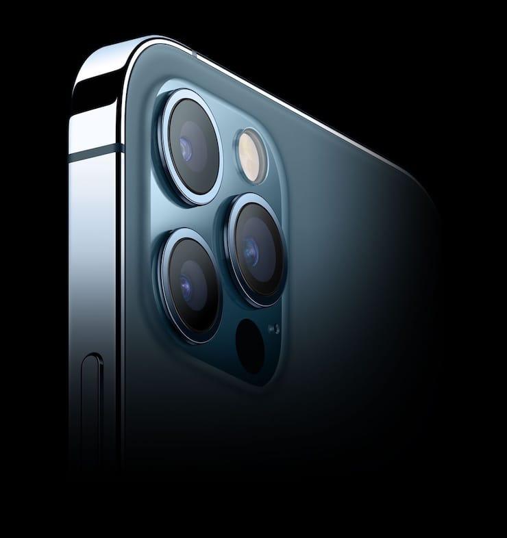 Камеры в iPhone 12 Pro и iPhone 12 Pro Max