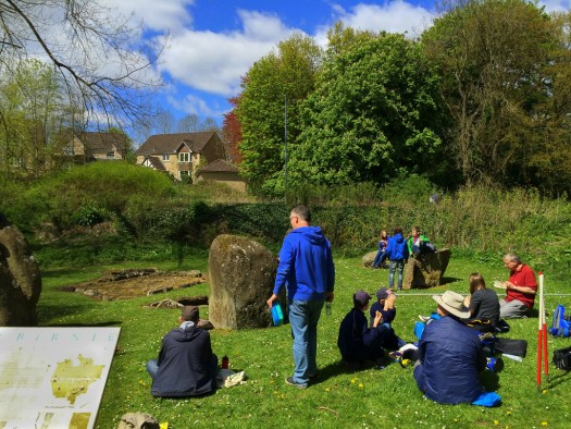 Lunchtime at Balbirnie Stone Circle