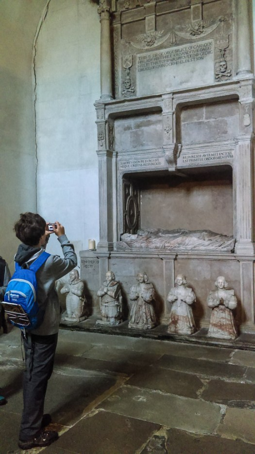Alexander records the Bruce memorial for posterity