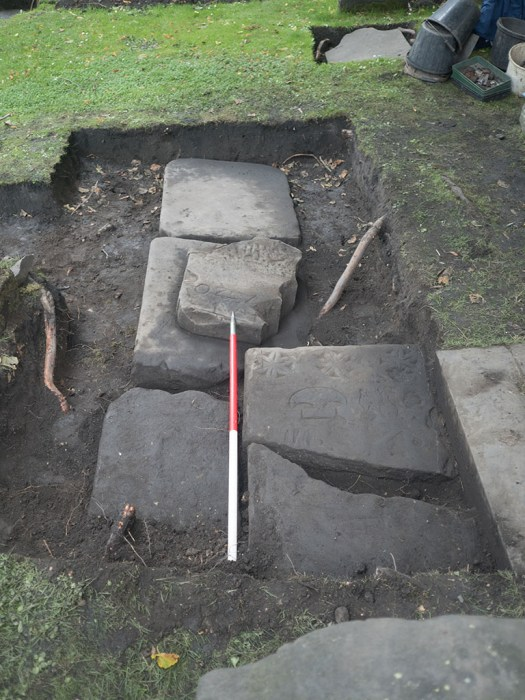 Gravestones uncovered by YAC so far