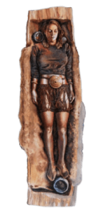 Egtved Girl burial reconstruction-Edit