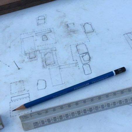 Planning on the Plane Table