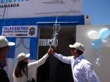 Inauguración del Telecentro Javier Pérez de Cuellar