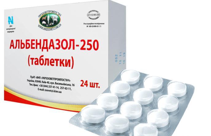 medicamente antihelmintice pentru suspendarea persoanelor