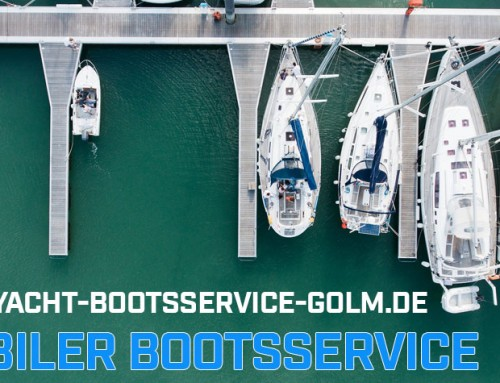 Mobiler Bootsservice