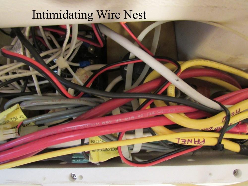 medium resolution of gemini catamaran wiring system behind the breaker panel