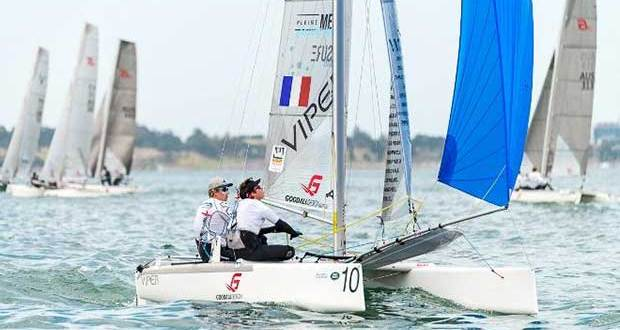 Day 1 – Pleine Mesure (FRA) and Viper fleet - Viper World Championships © LaFoto