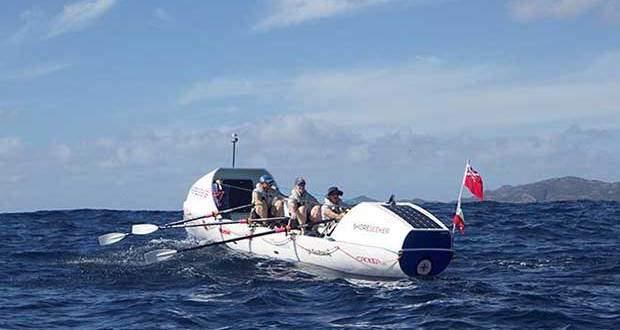 Shoreseeker open water rowing challenge © Clipper Round The World Yacht Race http://www.clipperroundtheworld.com