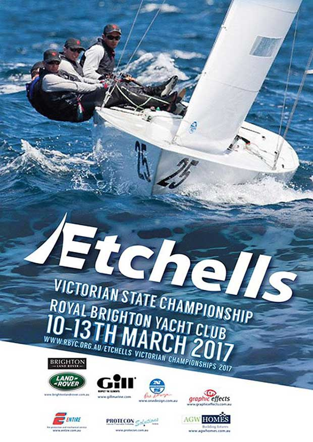 All set for great, close action at the 2017 Etchells Victorian Championship © Event Media