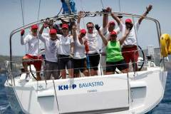 Hartmut Holtmann's KH+P yachtcharter has been bringing boats to Antigua Sailing Week since 1991 © Paul Wyeth / pwpictures.com http://www.pwpictures.com