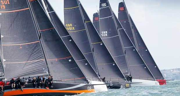 FAST40+ race teams – RORC Easter Challenge © Paul Wyeth / pwpictures.com http://www.pwpictures.com