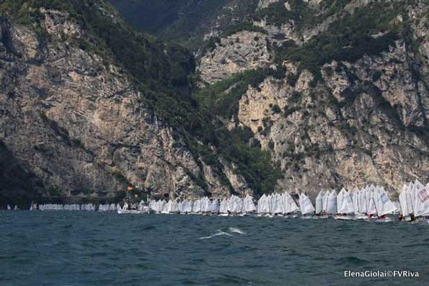 35th Lake Garda Optimist Meeting © Elena Giolai/Fraglia Vela Riva
