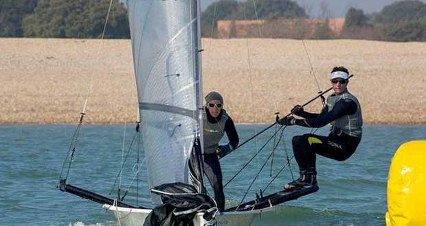 Luke and Emma McEwen – Round 2 – RS800 Magic Marine Grand Prix © Tim Olin