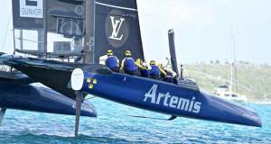 Artemis Racing (SWE) - Day 1 - America's Cup 2017, May 27, 2017 Great Sound Bermuda Richard Gladwell www.photosport.co.nz