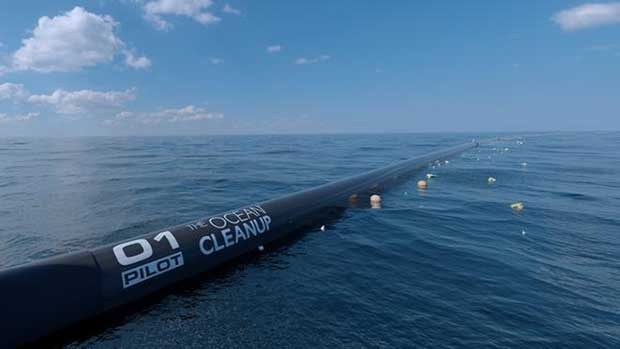 Ocean Cleanup ~ Pacific cleanup to start in 2018 - sailing