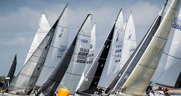 In the Mixed Sportsboats class SB20s took the top two spots - Royal Southern YC May Regatta 2017 © Paul Wyeth