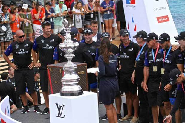 Emirates Team New Zealand America's Cup - Presentation - Bermuda June 26, 2017 Richard Gladwell www.photosport.co.nz