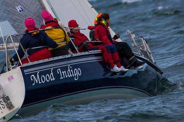 Mood Indigo in Australian Women's Keelboat Regatta 2016 © Bruno Cocozza