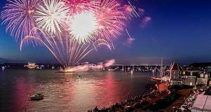 Cowes Week Fireworks Paul Wyeth/CWL