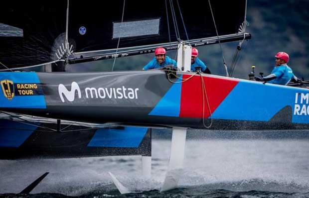 Ventana Group - Movistar will be skippered by two time Olympic medallist Iker Martinez - GC32 Villasimius Cup © Jesus Renedo / GC32 Racing Tour