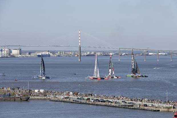 Centennial Transat builds bridge to a flying future © Thierry Martinez / The Bridge