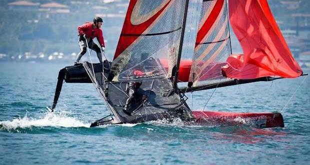 Day 1 – Foiling Week Garda © Martina Orsini / TFW