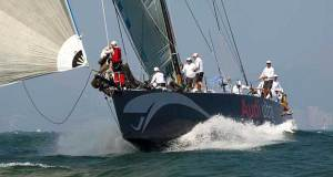Launched! Chivas heads for Nha Trang. Hong Kong to Vietnam Race. © RHKYC/Guy Nowell http://www.guynowell.com/