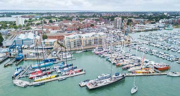 Clipper Race and Volvo Ocean Race fleets Clipper Ventures