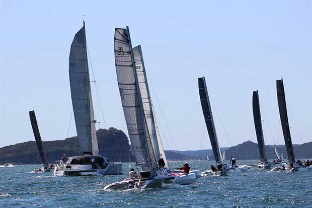 Crowther Multihull Regatta ©