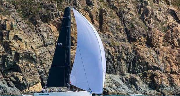 Swish captured sailing off the Cones in this years Arlie Beach Race Week Andrea Francolini http://www.afrancolini.com/
