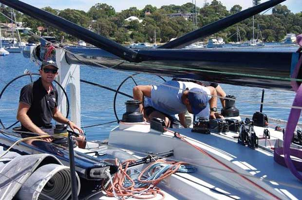 Black Betty crew – Roland Smith Ocean Race © Susan Ghent / RFBYC