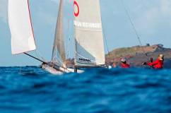 West Indies Sails – Turenne Laplace and Patrick Laplace – St. Barth Cata Cup © Pierrick Contin http://www.pierrickcontin.fr/