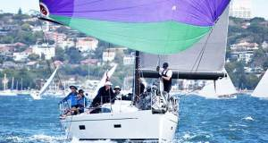 Ian Box's Toy Box 2 on the run - 2017 Sydney Short Ocean Racing Championship MHYC http://www.mhyc.com.au/