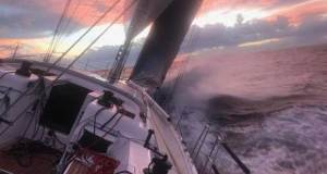 Third day at sea in the RORC Transatlantic Race to Grenada - photo from on board Friedrich Boehnert's Xp-50 Lunatix RORC