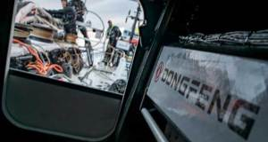 Leg 02, Lisbon to Cape Town, day 02, Morning on board Dongfeng. - 2017-18 Volvo Ocean Race © Jeremie Lecaudey / Volvo Ocean Race