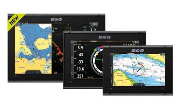 B&G introduces radar enabled Vulcan sailing chartplotters © Marine Advertising Agency