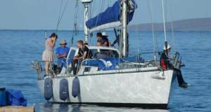 Vic-Maui International Yacht Race - Incantation Finish © Vic-Maui