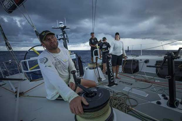 Team Brunel with Dolmer – Volvo Ocean Race Leg 4 © Yann Riou / Volvo Ocean Race