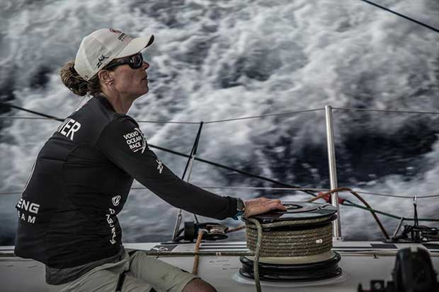 Leg 4, Melbourne to Hong Kong, day 12 on board Dongfeng. - photo © Martin Keruzore / Volvo Ocean Race