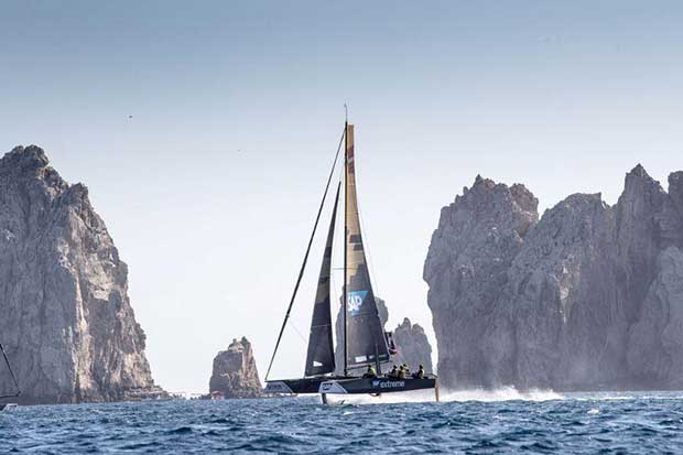 Act 8, Extreme Sailing Series Los Cabos 2017 - day one - SAP Extreme Sailing Team - photo © Lloyd Images