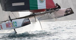 Extreme Sailing Series Act 8, Los Cabos 2017 - day two - Team México - photo © Lloyd Images