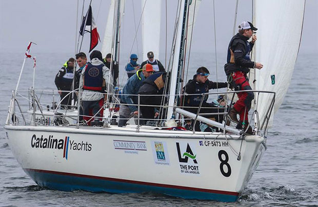2018 Port of Los Angeles Harbor Cup - Day 2 © Bronny Daniels/Joysailing