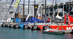 Volvo Ocean Race fleet ready to race - March 18, 2018 © Richard Gladwell