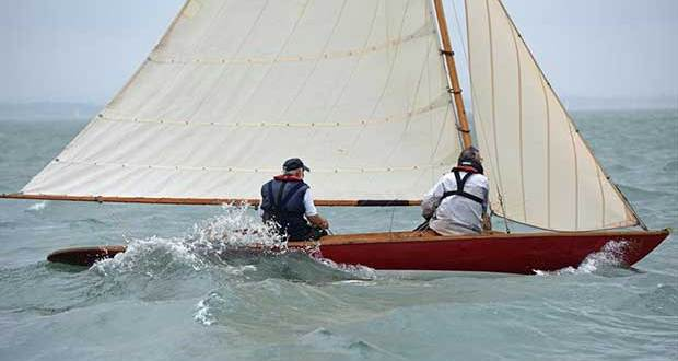 Winifred at Cowes Classics Week - photo © Rick Tomlinson