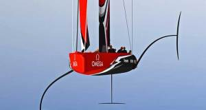 The new AC75 class will feature suollied and one design features © America's Cup Media