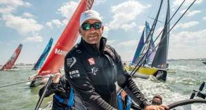 Volvo Ocean Race, The Hague stopover. Practice race on board Sun Hung Kai / Scallywag © Konrad Frost / Volvo Ocean Race