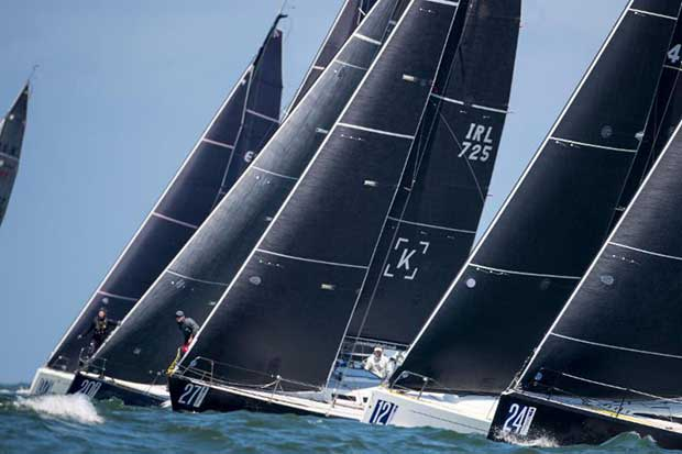 Class C had one general recall in close starts on day 3 at The Hague Offshore Sailing World Championship 2018 - photo © Sander van der Borch